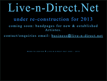 Tablet Preview of live-n-direct.net